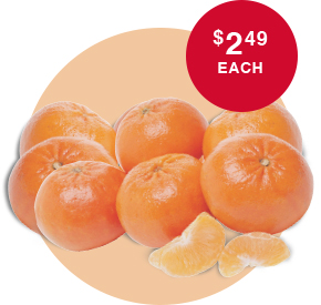 Juicy Tangerines 3 POUND BAG! For $2.49 Each