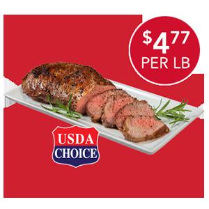 USDA CHOICE BEEF LOIN TRI-TIP ROAST