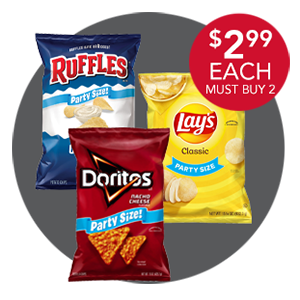 FRITO-LAY PARTY SIZE CHIPS