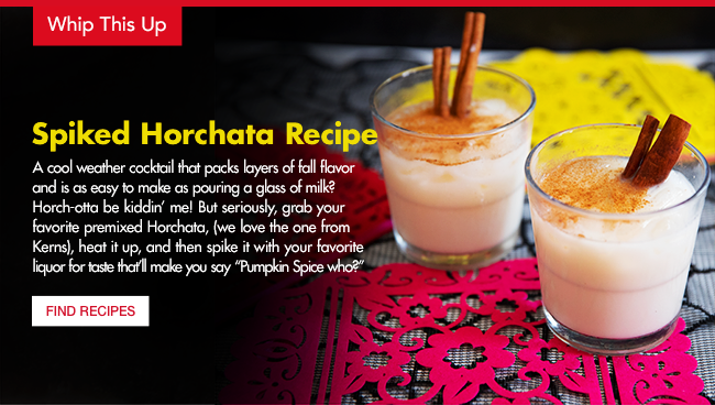 Spiked Horchata Recipe