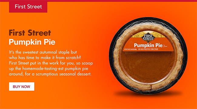 First Street Pumpkin Pie