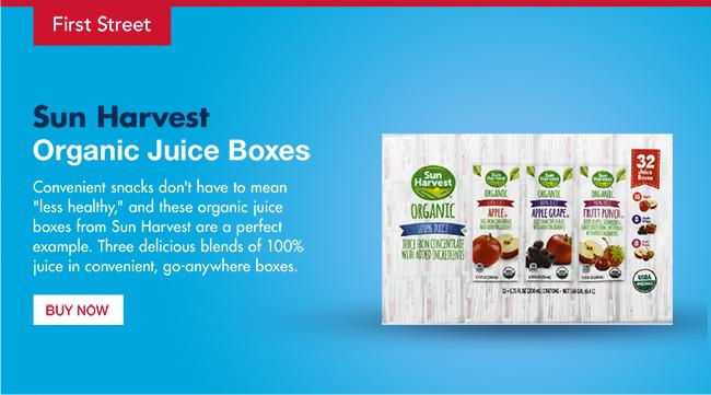 Sun Harvest - Organic Juice Boxes