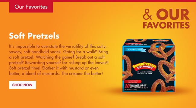 Super Pretzel - Soft Pretzels