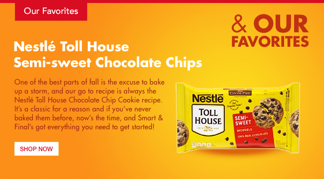 Nestle Tollhouse Semisweet Chocolate Chips