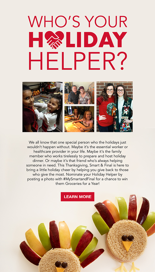 Who's Your Holiday Helper?