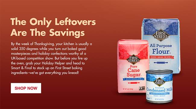 The Only Leftovers Are The Savings